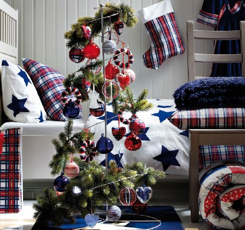 Adornos navideños Ikea para el dormitorio