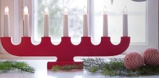 Candelabro para Navidad Ikea
