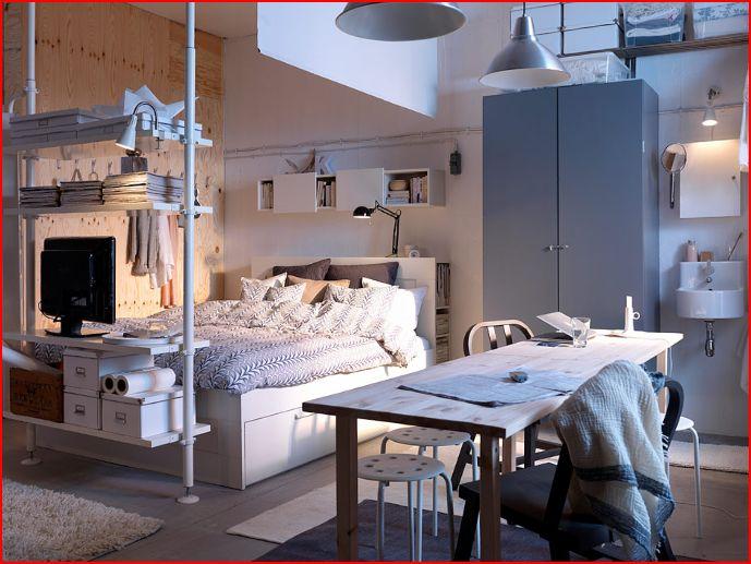 Ikea Floor Lamp Room Divider ~ Este dormitorio , aunque parezca mentira te lo puedes llevar completo