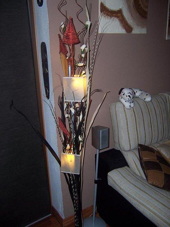 lámpara de Ikea - lámpara duderö tuneada