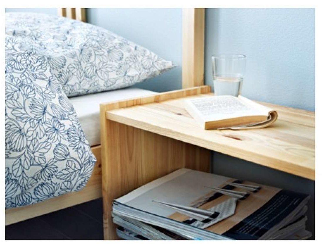 mesa de noche de Ikea
