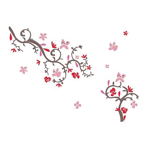 vinilo de flores
