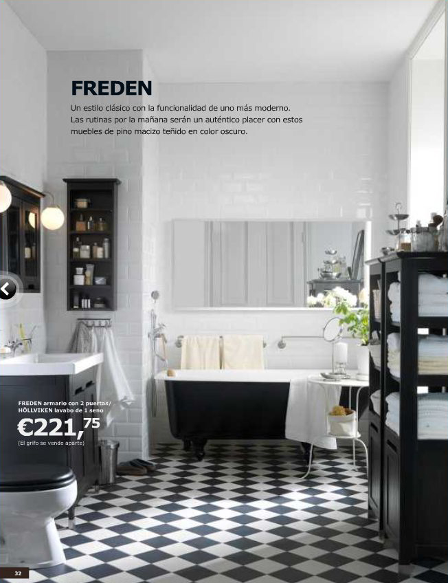 Ikea ba os 2011 decoraci n sueca decoraci n n rdica y - Banos vintage modernos ...