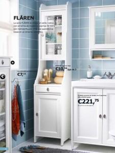 baño blanco de IKEA
