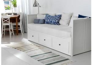 diván blanco