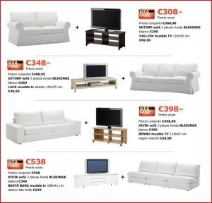 sofá y muebles de televisión