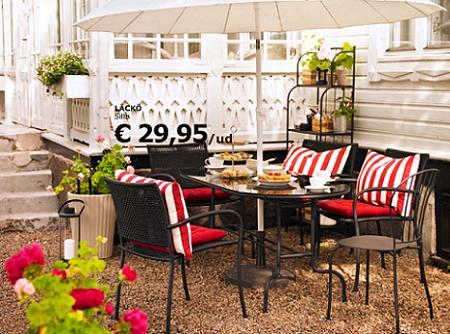 Mobiliario de ikea para exteriores decoraci n sueca - Ikea terraza y jardin ...