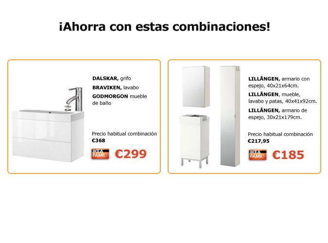 Muebles De Baño Ofertas:Oferta: Los socios de IKEA FAMILY, ¡ahorran en muebles de baño