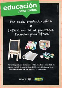 Campaña solidaria de IKEA y UNICEF
