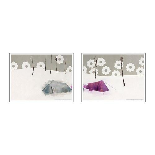 Arte para las paredes by ikea decoraci n sueca for Laminas gigantes para pared