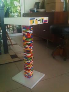 mesa IKEA y Lego