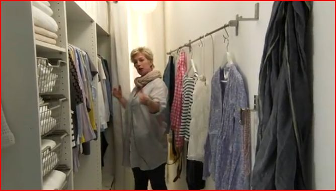 Crear un vestidor en una habitación pequeña - Decoración Sueca ...