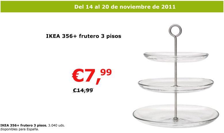 Oferta frutero 365 decoraci n sueca decoraci n for Mesa cocina frutero