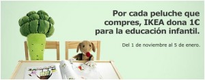 peluches para la educación