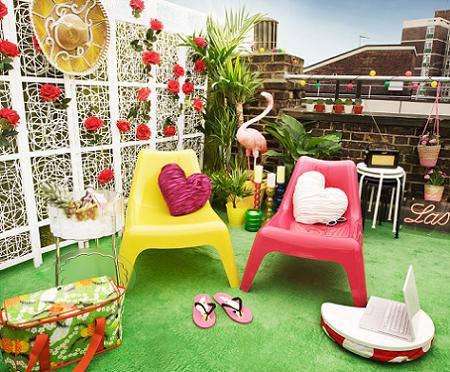 Decorar el jard n con ikea decoraci n sueca decoraci n - Ikea terraza y jardin ...