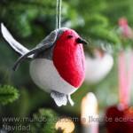 Adorno navidad pájaro Ikea
