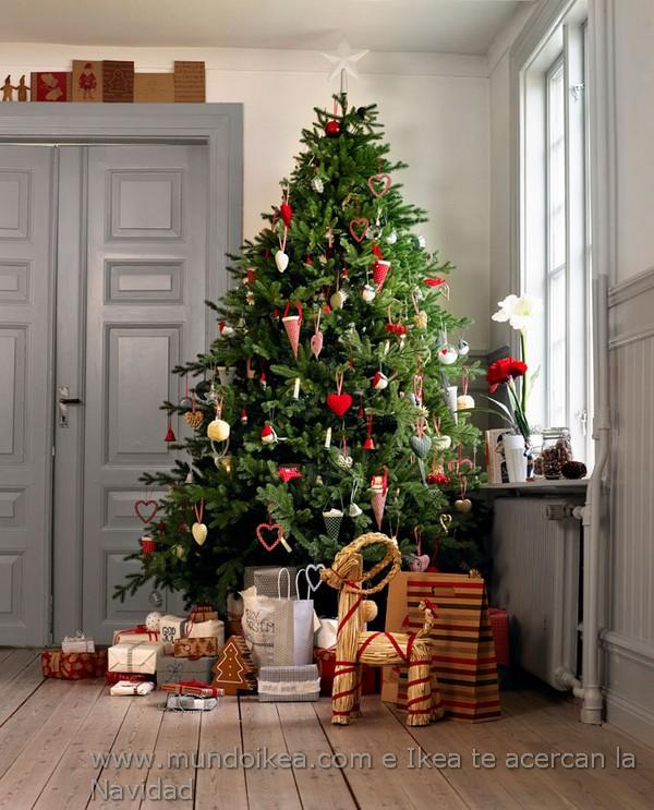 decoracin rbol de navidad ikea