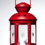 Farol navideño decoración Ikea 2012