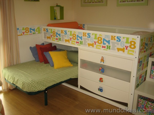 cama kura con cómoda cama debajo