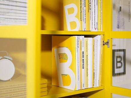 Librer a billy de ikea decoraci n sueca decoraci n - Libreria billy con puertas ...