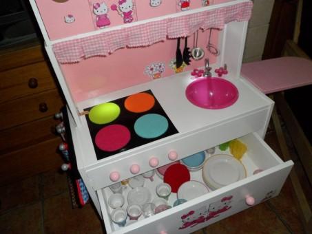 cajon abierto cocina ikea juguete
