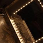espejo y luces del tocador