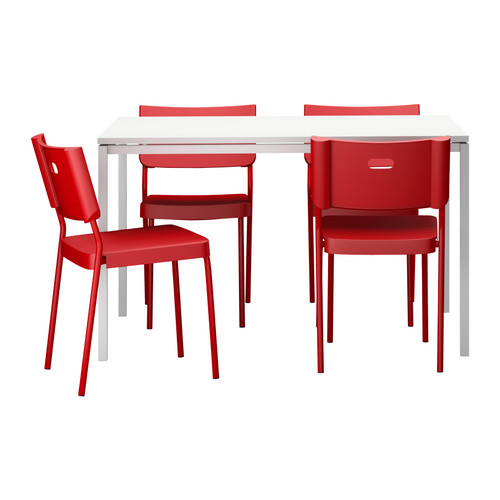 Great Conjunto Mesa Y Sillas Comedor Ikea Photos >> Teodores Vangsta ...