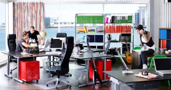 Decorar un negocio con ikea for Complementos de oficina