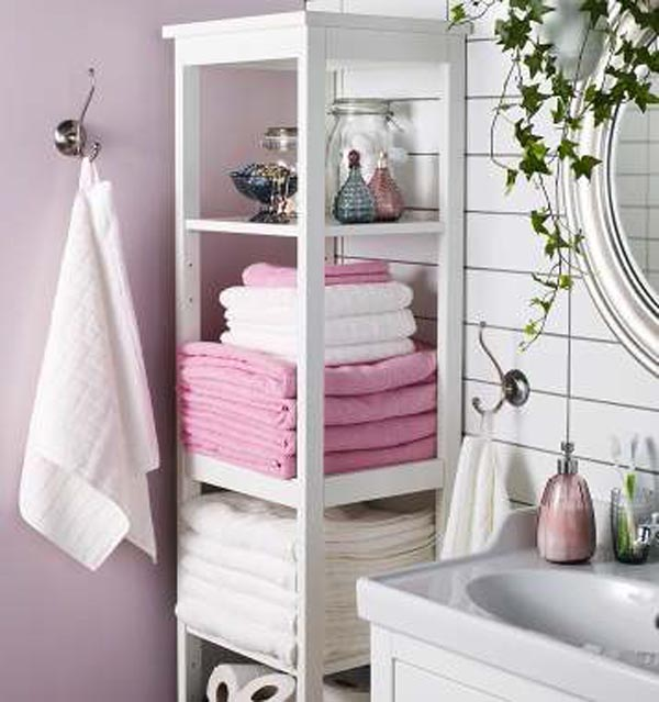 Decoracion Baño Economico:IKEA Bathroom Storage Ideas