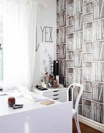 C mo decorar un peque o espacio de trabajo - Espacios de trabajo ikea ...