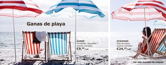 muebles de playa
