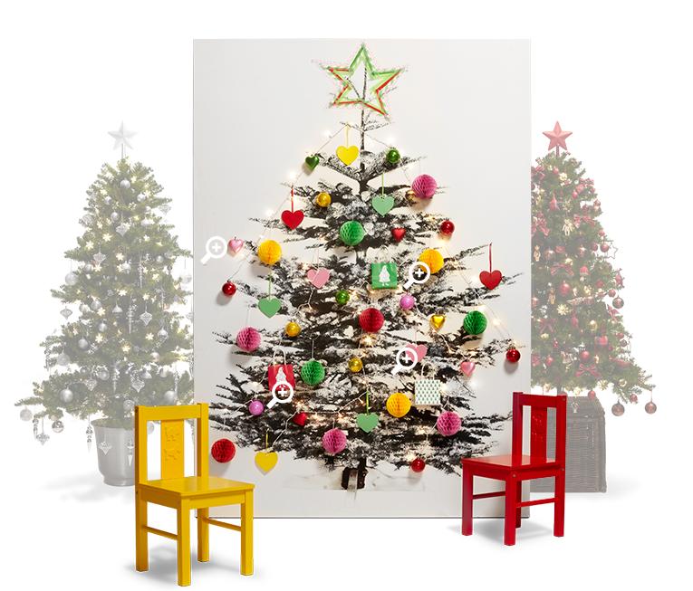 Decoraci n de navidad con ikea - Arboles navidad decoracion ...