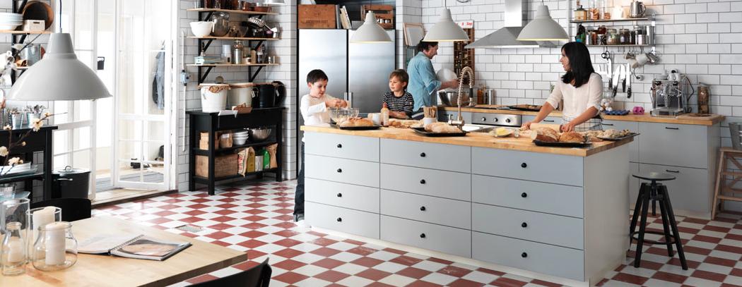 C mo dise ar la cocina de tus sue os en 4 pasos con ikea - Disenar la cocina ...