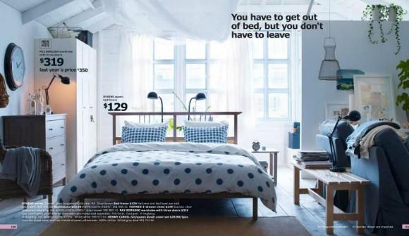 dormitorio en color frio