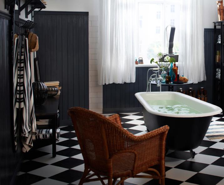 ikea decoración baño 1