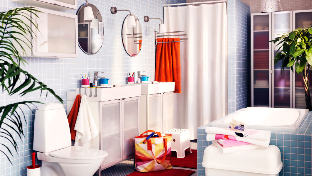 ikea decoración baño