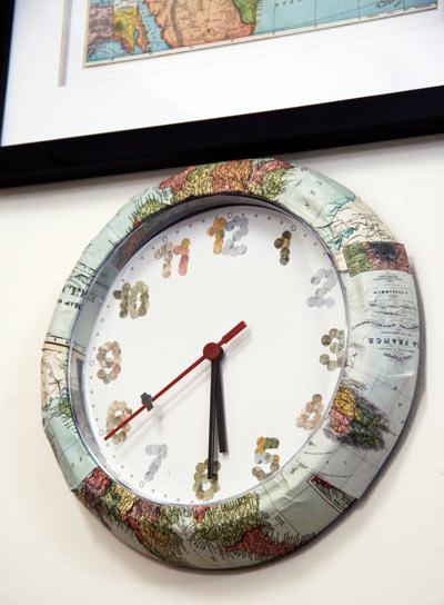 reloj renovado de ikea