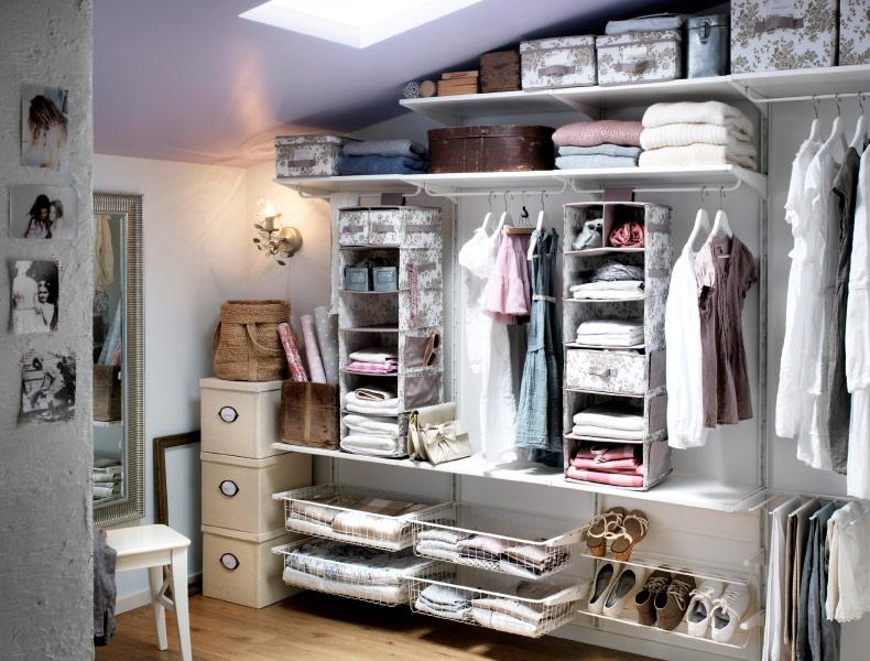5 ideas para organizar tu propio vestidor