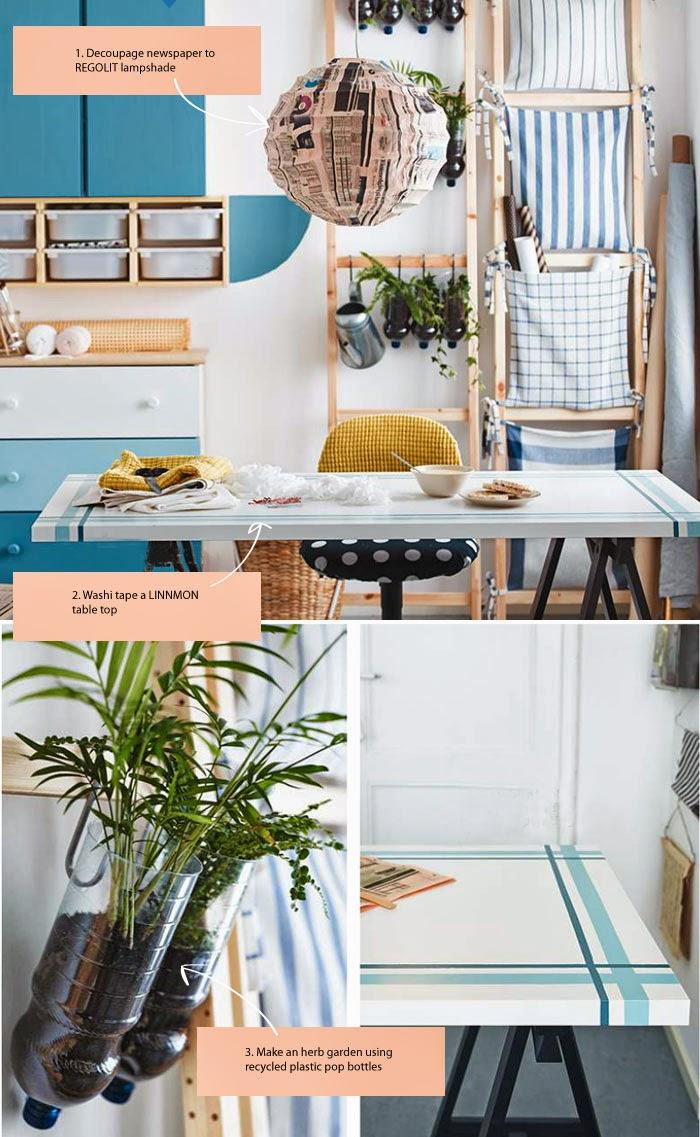Decora con decoupage tu cocina ikea - Casas decoradas con ikea ...