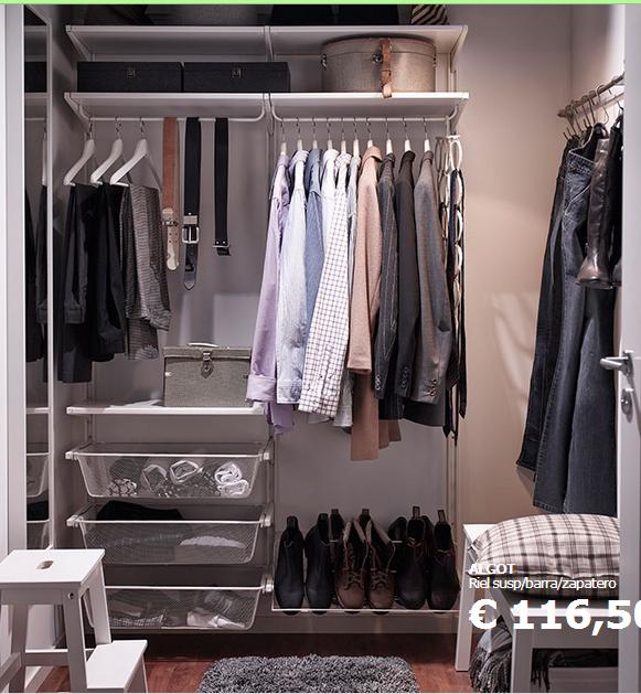 C mo hacer un vestidor con muebles de ikea - Como hacer puertas de armario ...