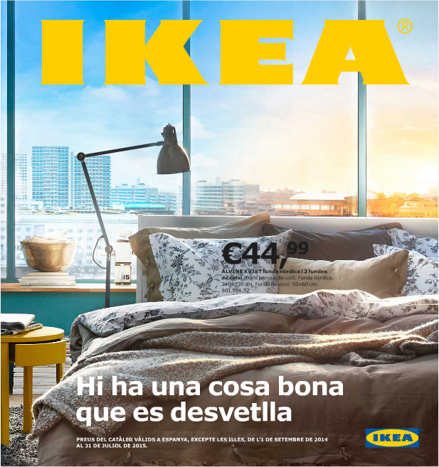 Catálogo de IKEA 2015 en catalán
