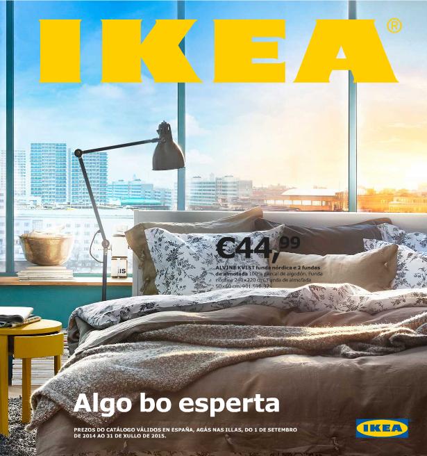 Catálogo de IKEA 2015 engallego