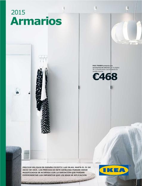 Catálogo dearmarios IKEA 2015