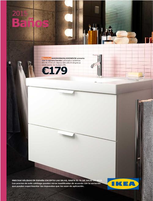 Catálogo debaños IKEA 2015