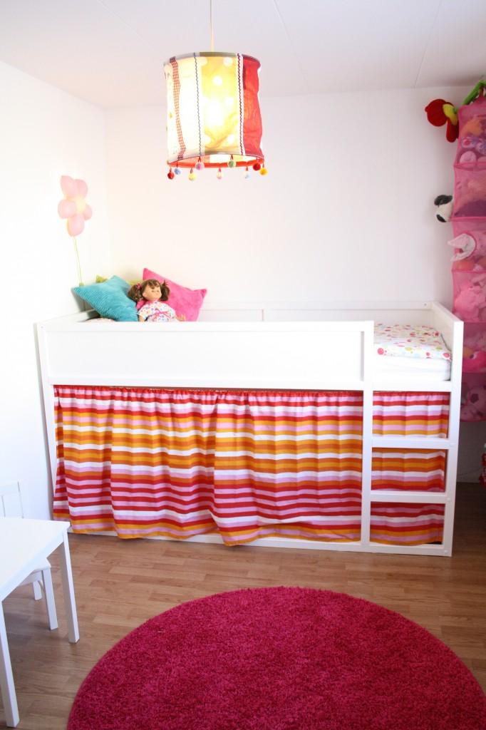 DIY - Litera IKEA KURA - cortina