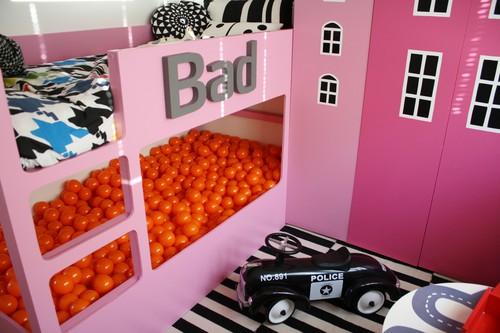 DIY - litera ikea con cama de bolas