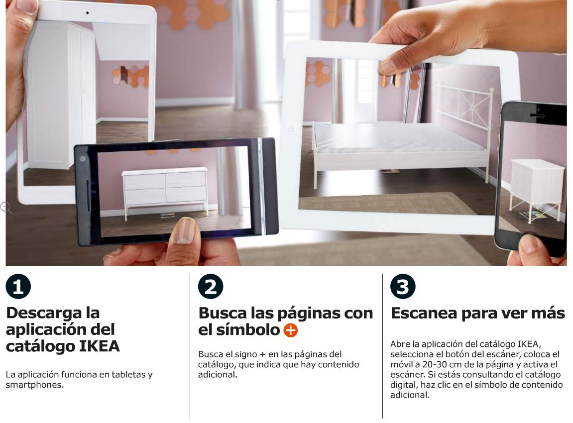 REALIDAD AUMENTADA CATALOGO IKEA 2015