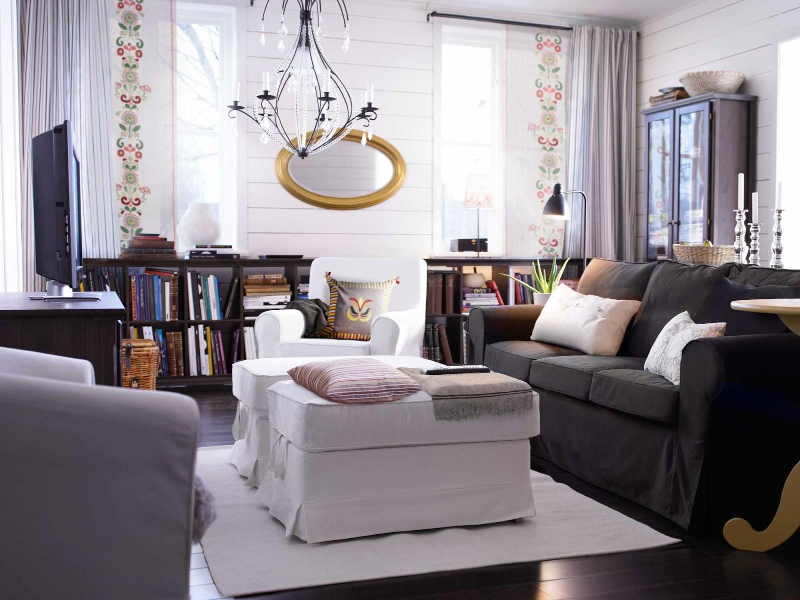 Decoracion Ikea Salon ~   Sueca  Decoraci?n n?rdica y decoraci?n con muebles de IKEA