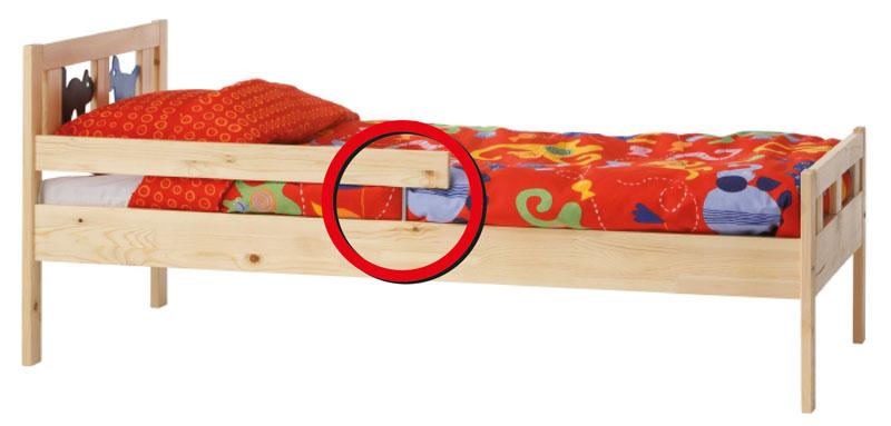 cama extensible para niños
