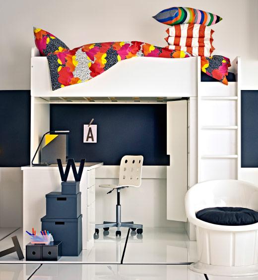 Dormitorio estudio ikea: dormitorios infantiles estilo escandinavo ...